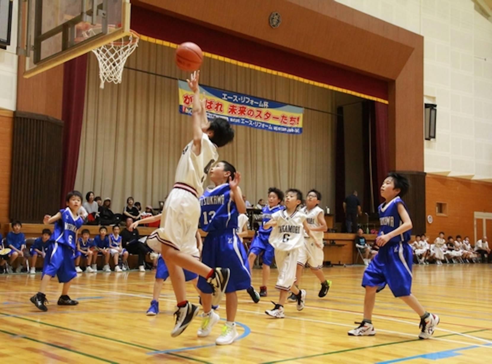 長野県でのリフォームのことならエースリフォーム バスケット大会画像
