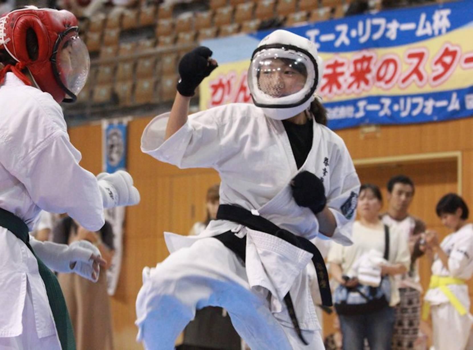 長野県でのリフォームのことならエースリフォーム 空手大会画像
